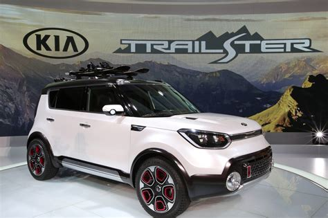 Kia Soul Trailster by Kia Trailster Concept Soul E Awd Chicago Tribune