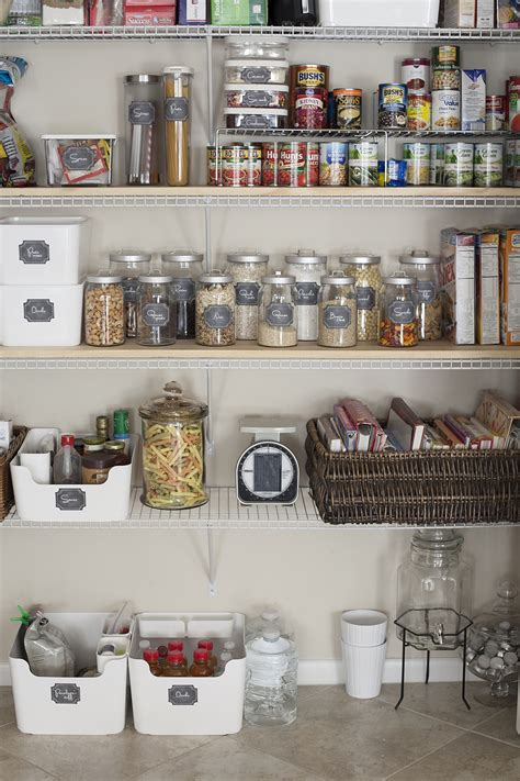 kitchen pantry organization and free printables fresh blog