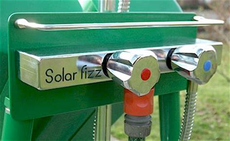solarfizz garden shower   swiss solar fizz portable