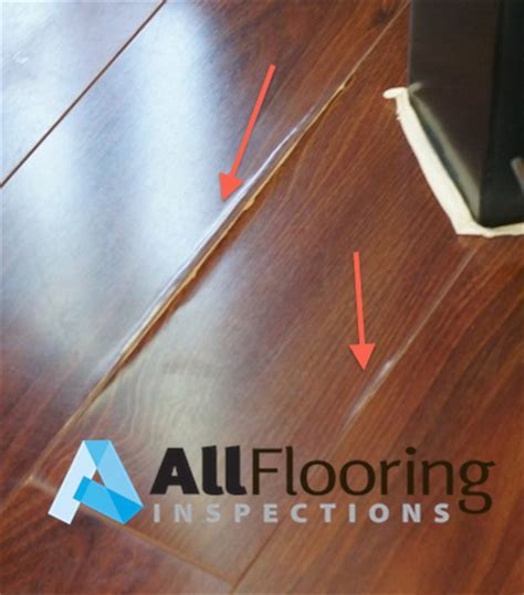 Laminate Delamination   All Flooring Inspections