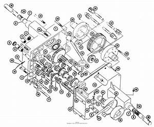Toro 855  855 Tractor  1965 Parts Diagram For Transmission