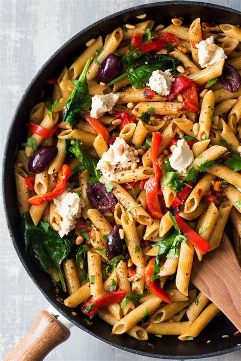 superb vegan pasta recipes    lunch page