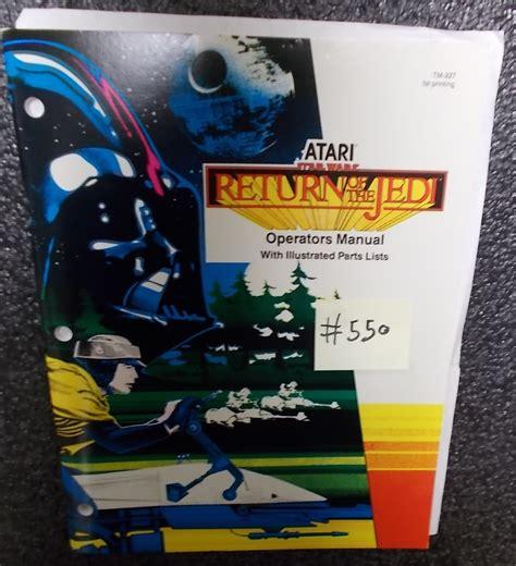 star wars return   jedi video arcade machine game