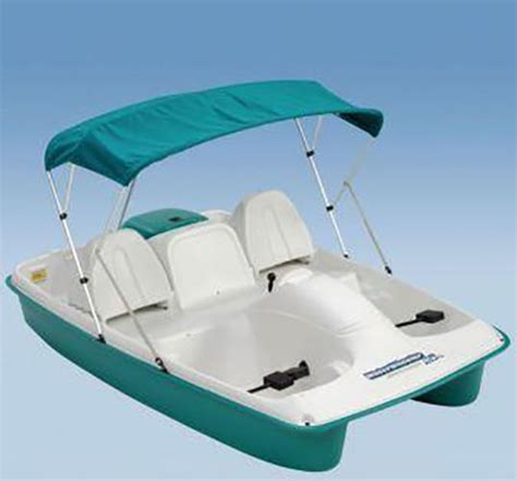 Sun Dolphin Paddle Boat Cover by Paddle Boat Escape Water Wheelerasl Paddleboat New Ebay