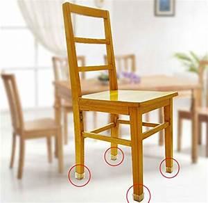 MelonBoat Chair Leg Feet Wood Floor Protectors Set Felt