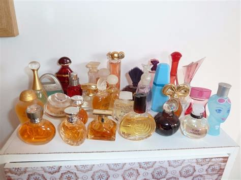 Collection Of Miniature Perfume . Mini Perfume Bottles