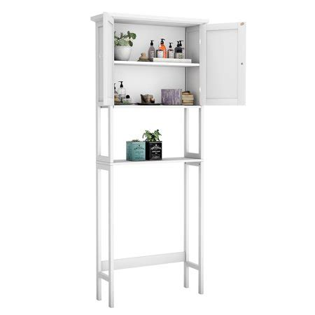 White Space Saver Bathroom Cabinet by The Toilet Bathroom Storage Space Saver With Shelf