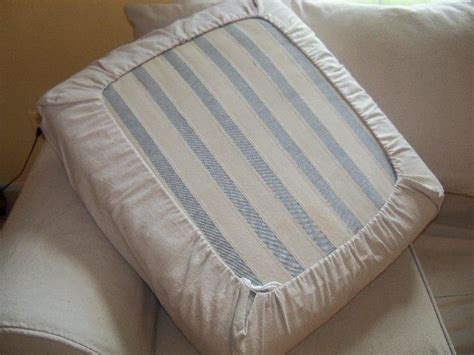 easy diy drawstring seat cushion cover seat cushions