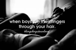 boys, hair, quotes, text, things boys do we - image ...