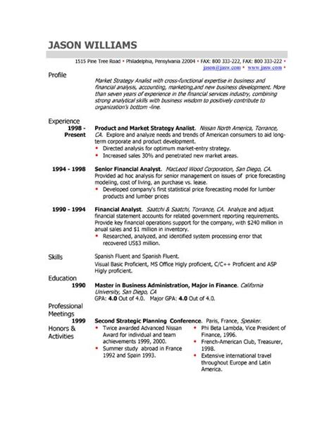 examples of professional profile on resume resumes sample cv professional profile customer service