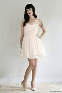 elizabeth dye wedding dresses 2012 wedding inspirasi With short blush wedding dress