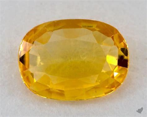 gemstones yellow sapphire  carat oval sku