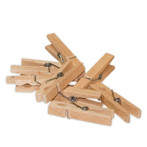 lot de 50 petites pinces 224 linge en bois redecker lapadd