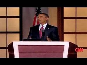 Barack Obama Nomination Speech: I Accept Your Nomination ...