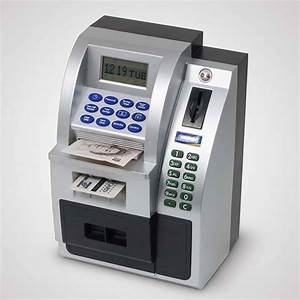 The Atm Money Bank Stores Your Pennies Securely