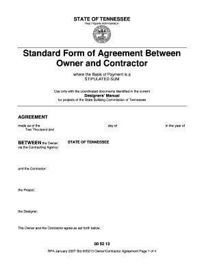 standard form of agreement between owner and contractor divorce petitioner verification clark county nevada sle