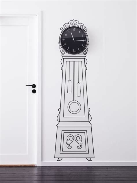 Ikea Grandfather Clock Bookcase by Create A Personal Grandfather Clock By Framing An