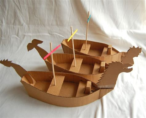 Creative Cardboard Boat Names by Creative Chronicles Of Narnia Inspired Diy Cardboard Boats