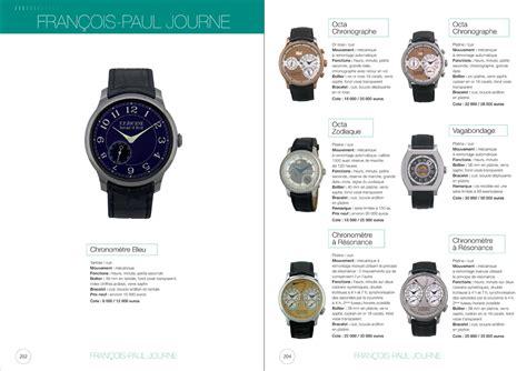 montres modernes collection m m c la cote de montres