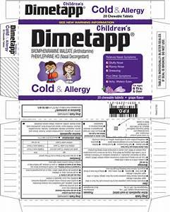 DailyMed - CHILDRENS DIMETAPP COLD AND ALLERGY- brompheniramine ... Brompheniramine