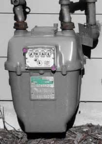 What Does a Natural Gas Meter Look Like