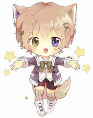 Kawaii Cute Anime Chibi Boy