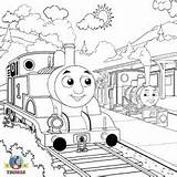 Coloring Caboose Train Printable sketch template