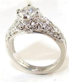 unique simple engagement rings vintage engagement rings for women wedding promise