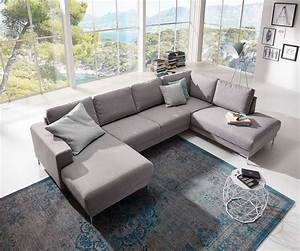 Billige Möbel Online : delife designer wohnlandschaft silas 300x200 grau ottomane rechts wohnlandschaften designer ~ Frokenaadalensverden.com Haus und Dekorationen