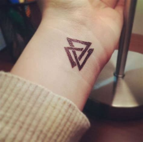 40+ Triangle Tattoos Tattoofanblog