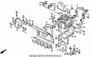 Honda Hs55 Ta Snow Blower  Jpn  Vin  Hs55