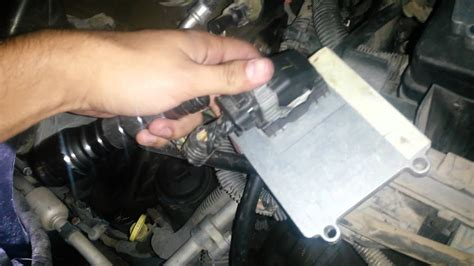 replace  transmission control module youtube