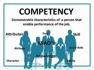 Competency – ... Competency