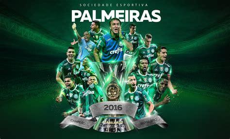 Escudo Palmeiras Papel De Parede - papel de parede digital