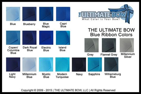 color charts  ultimate bow