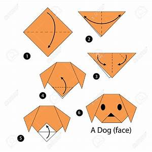 Origami clipart dog - Pencil and in color origami clipart dog