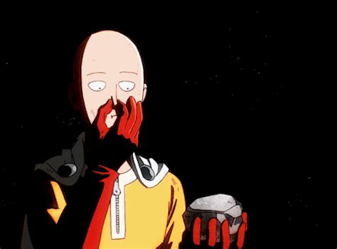 One Punch Animated Wallpaper - one punch gif