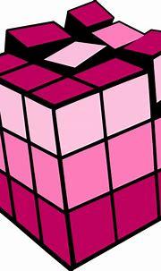 Rubiks Cube Pinktones Clip Art at Clker.com - vector clip ...