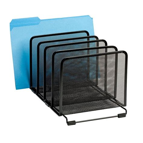 Office Supplies Paper Holder by Mesh Letter Tray Mail Sorter Document Desk Office File