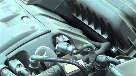 replace  camshaft angle sensor youtube