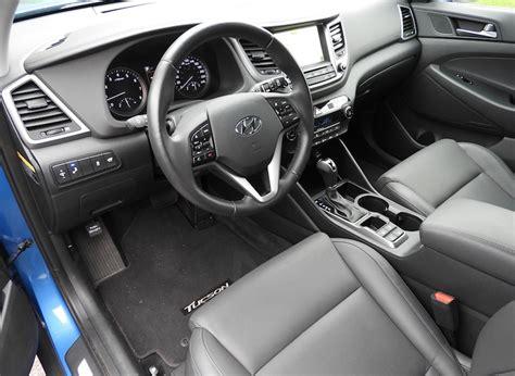 hyundai tucson 2016 interior 2016 hyundai tucson 1 6 limited awd review wheels ca