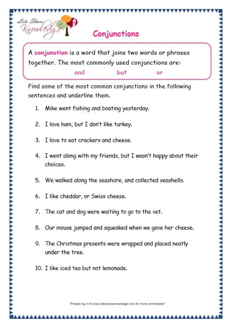 grammar worksheets for grade 3 with answers
