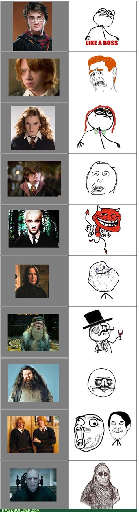 Funny Meme Characters - 343 best images about rage comics on pinterest funny dads and hogwarts
