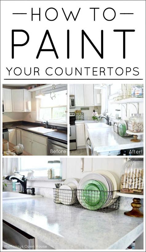 paint  countertops home decor challenge