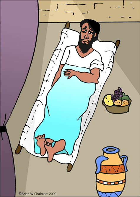 Jesus Heals Paralyzed Man Coloring Page Hot Girls Wallpaper