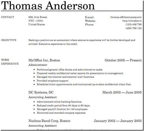 make a resume free resume ideas