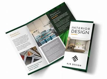 Brochure Interior Creative Template Templates Samples Fold