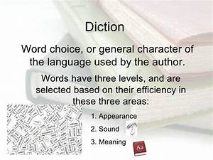 Examples Of  Diction  Literaryelements  Literarytechniques  Literaryterms  Literarydevices