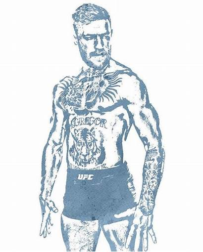Mcgregor Conor Hamilton Joe Ufc Water Pixel