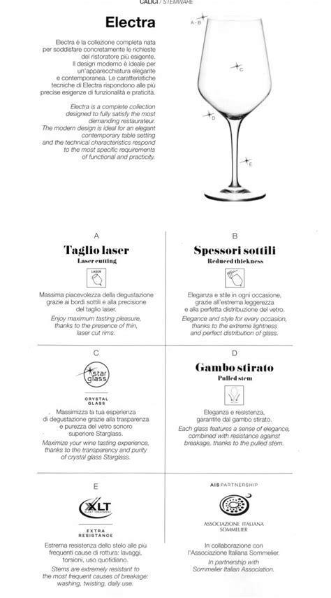 bicchieri per ristorazione calici bicchieri da ristorazione electra 44 cl